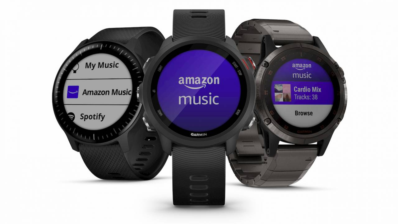 Amazon Music app gives Garmin smartwatches an edge