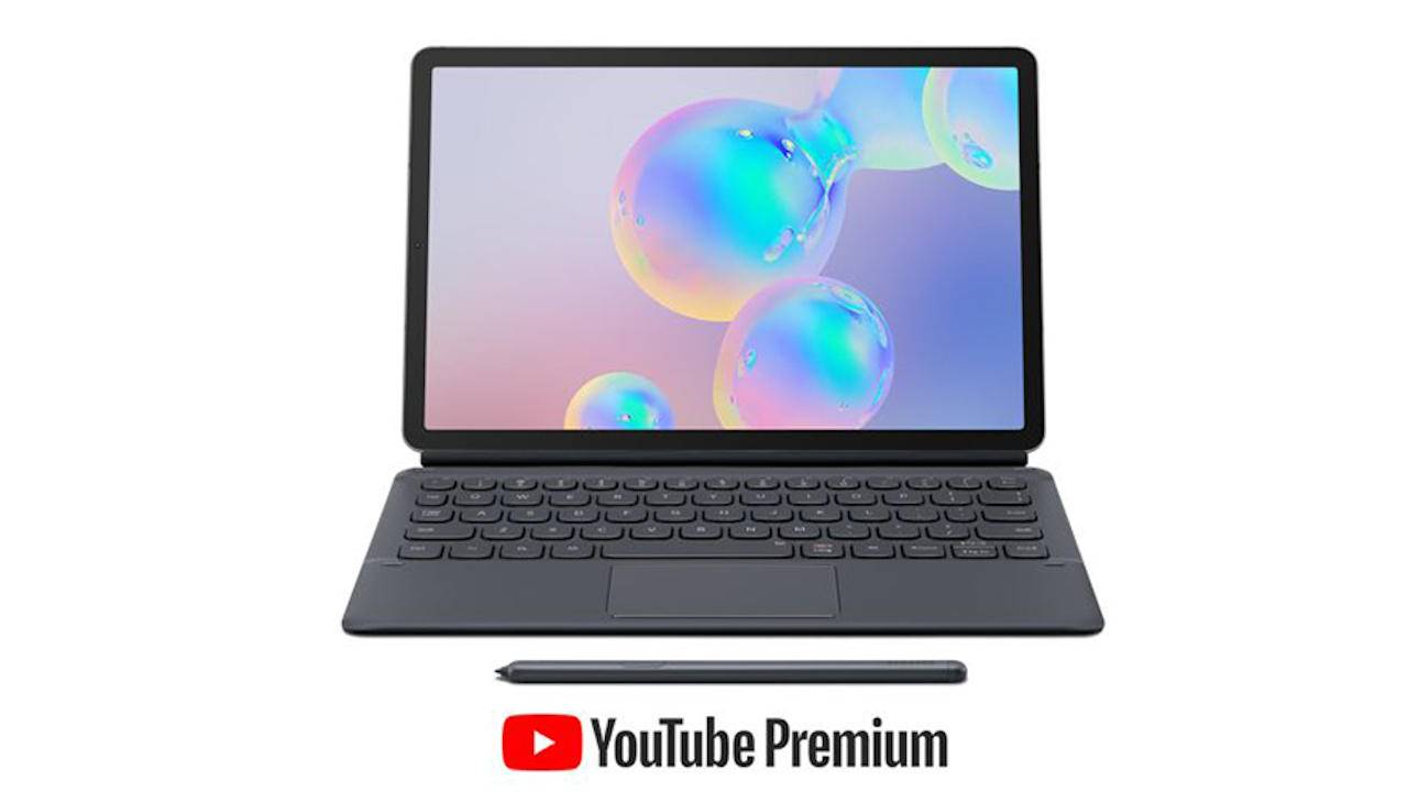 Galaxy Tab S6 pre-order begins with YouTube Premium in tow