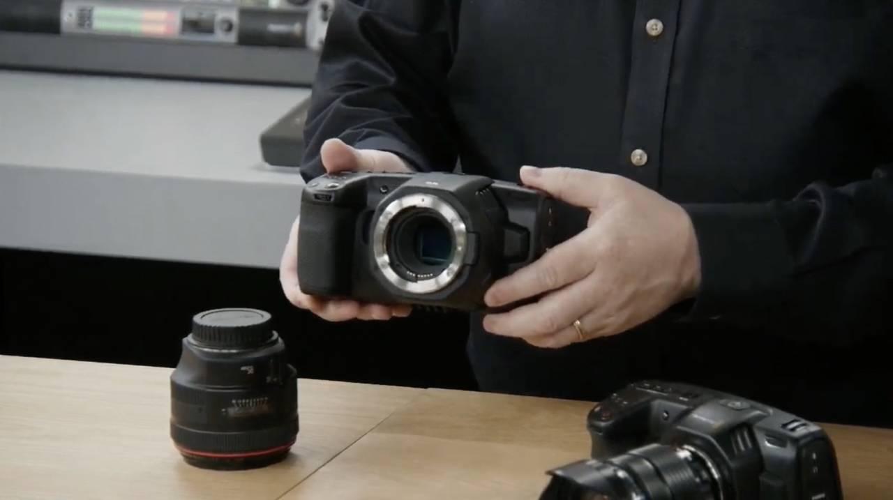 Blackmagic Pocket Cinema Camera 6k Adds Ef Mount Slashgear