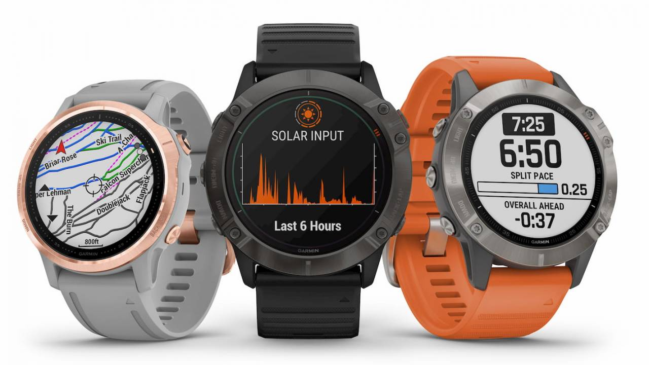 Garmin fenix 6 series goes big with a solar powered watch
