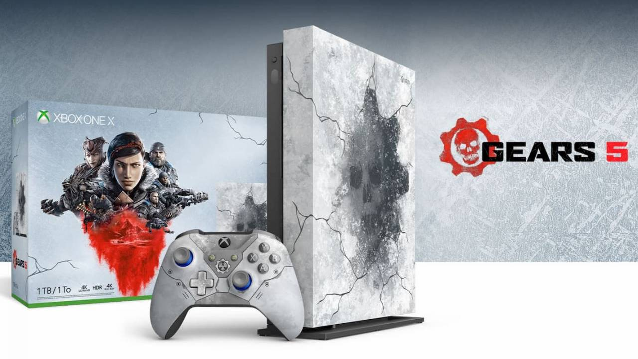Xbox One X Gears 5 limited edition revealed with new accessories
