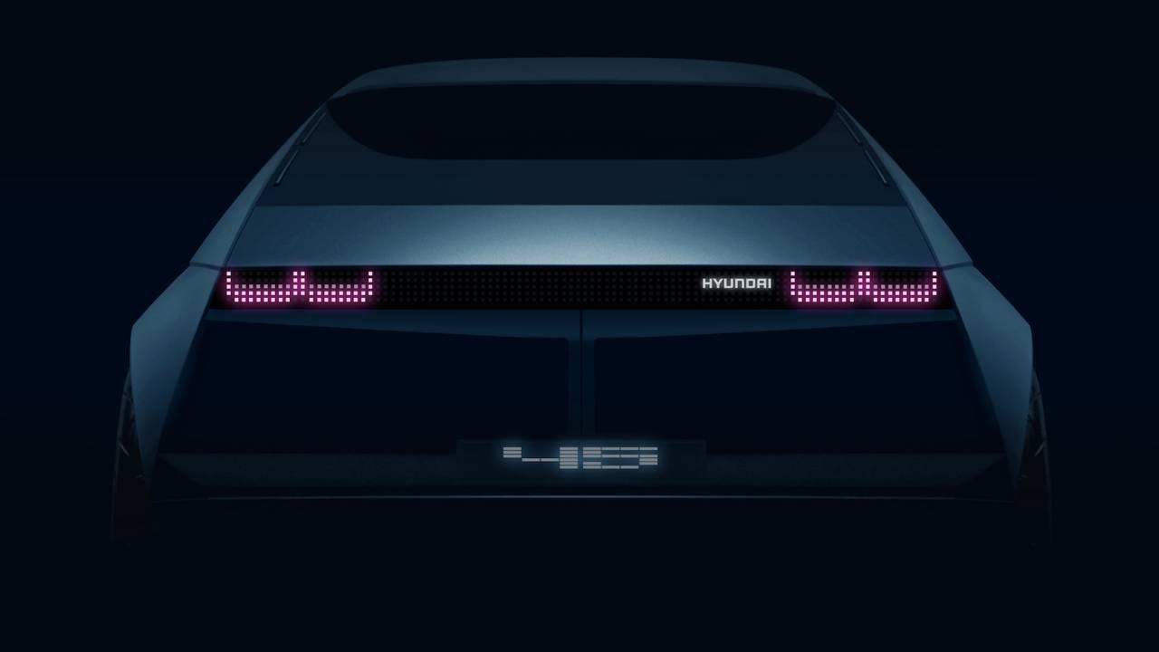 Hyundai 45 EV concept teases something special