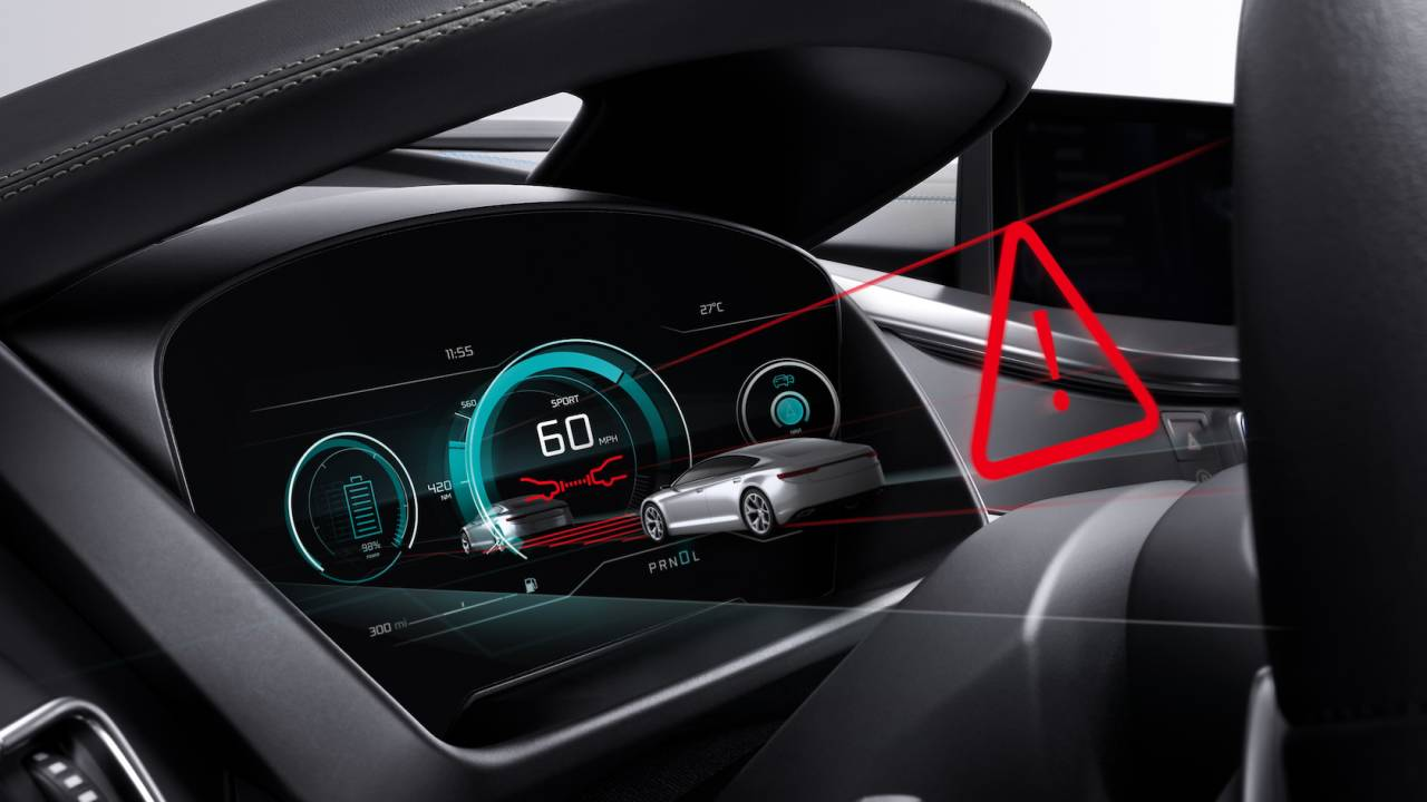 A 3D dashboard display could be the next big thing in car safety tech