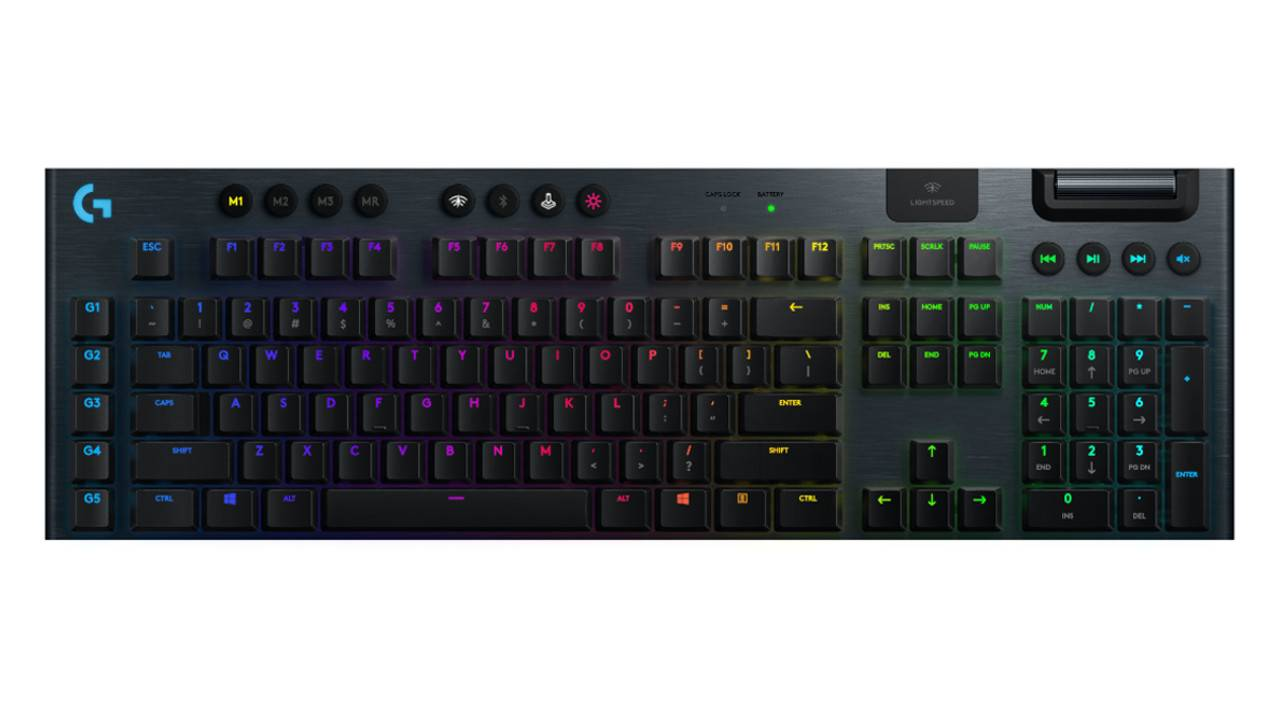Logitech G915 Lightspeed low-profile gaming keyboard first impressions