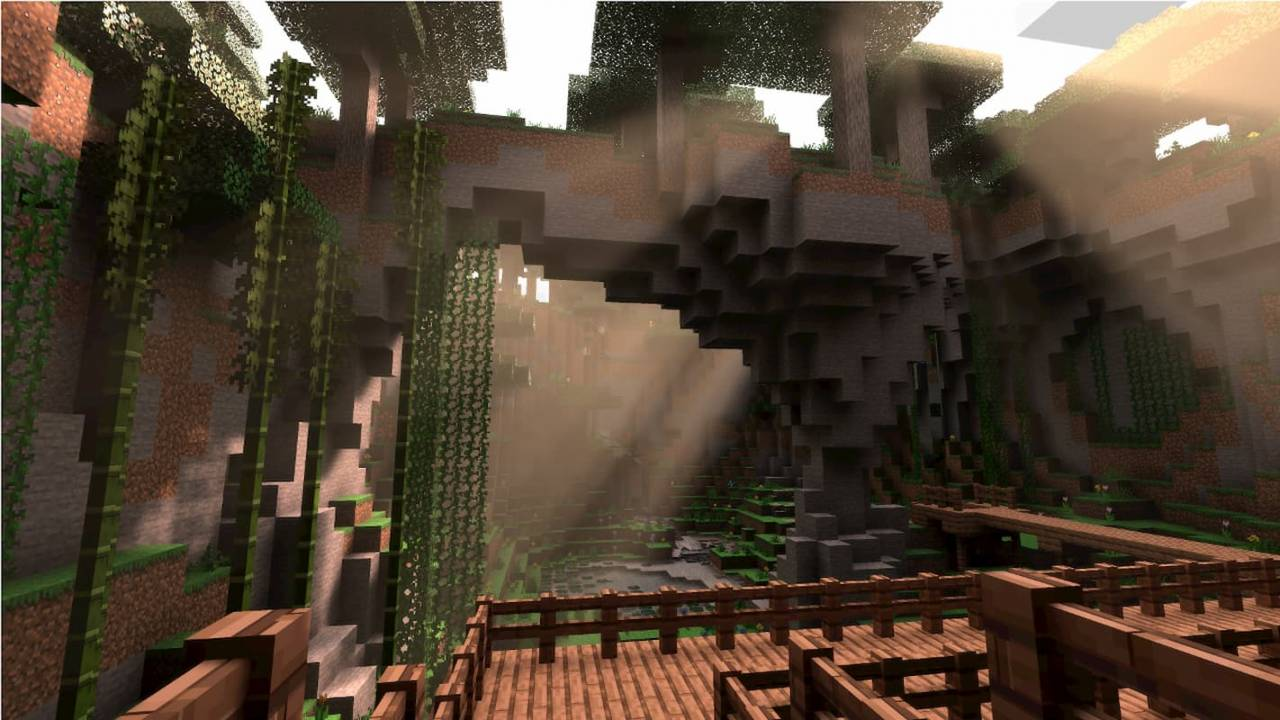 Minecraft is getting ray tracing support and it looks completely different