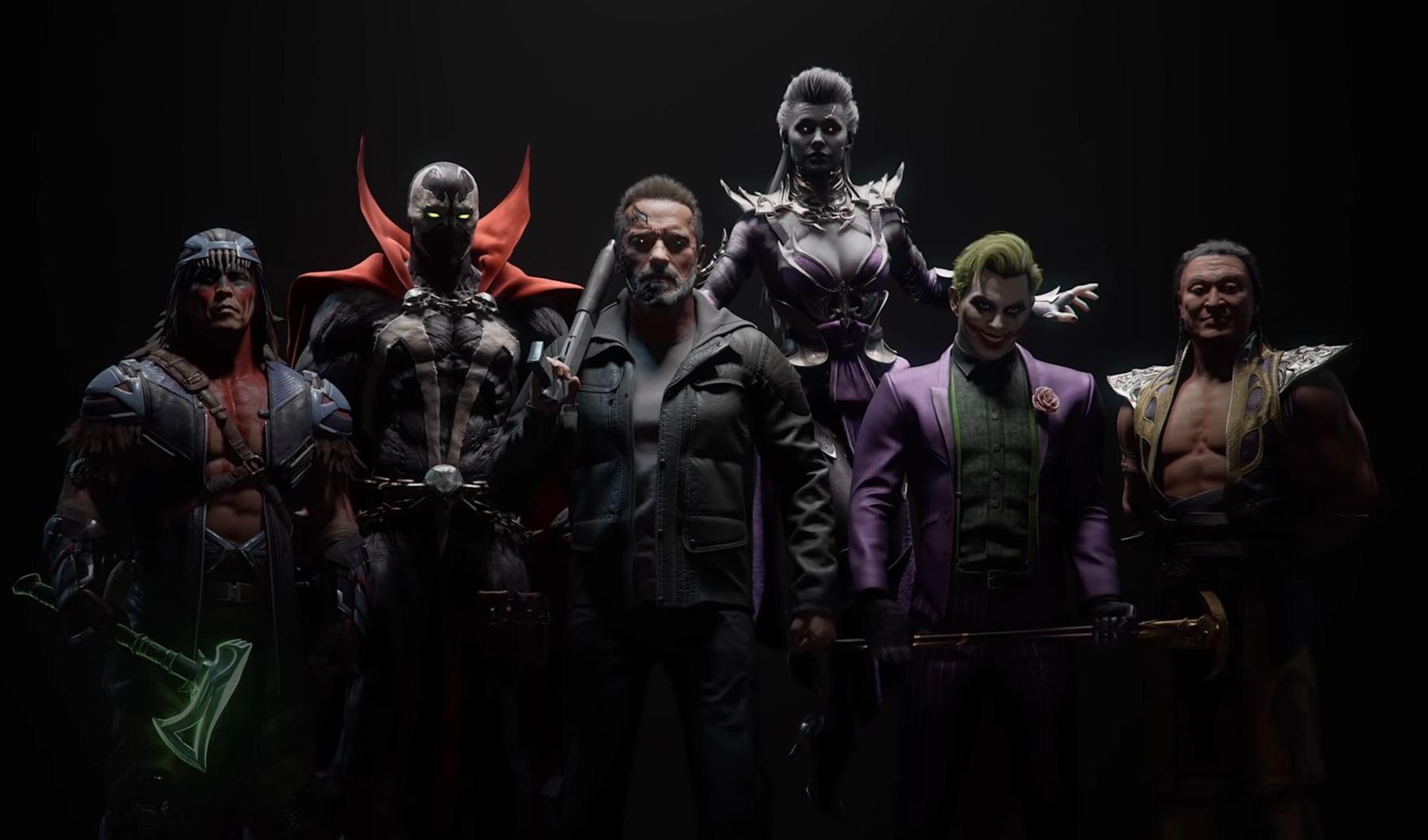 mortal kombat 11 roster 2020