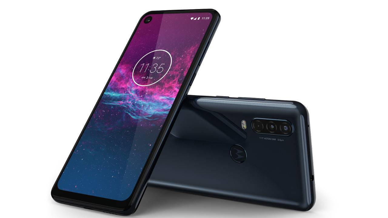 Motorola One Action's camera takes a twisted view on video