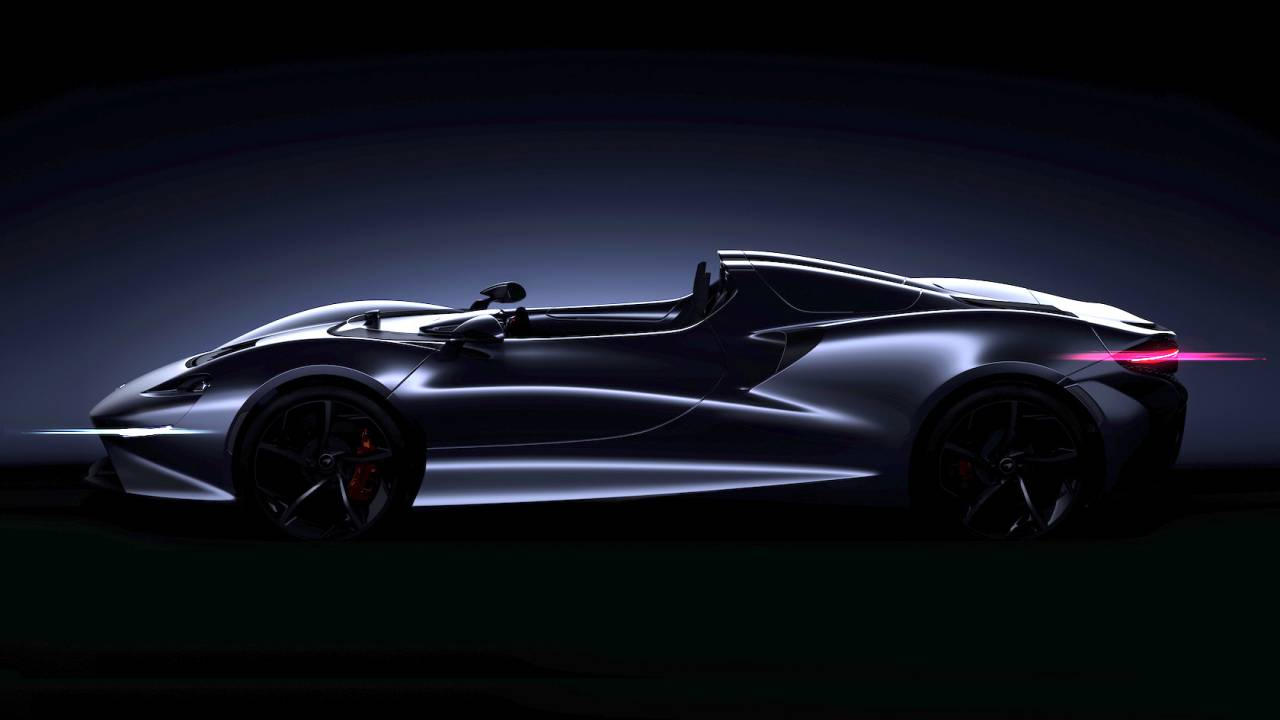 McLaren's stunning new Ultimate Series roadster skips the windshield