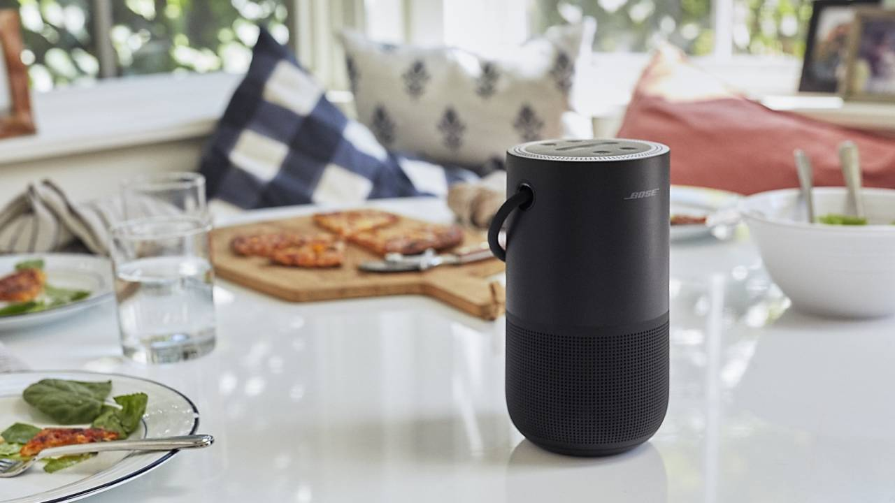 This Bose smart speaker pairs Alexa and Google Assistant with a 12hr battery