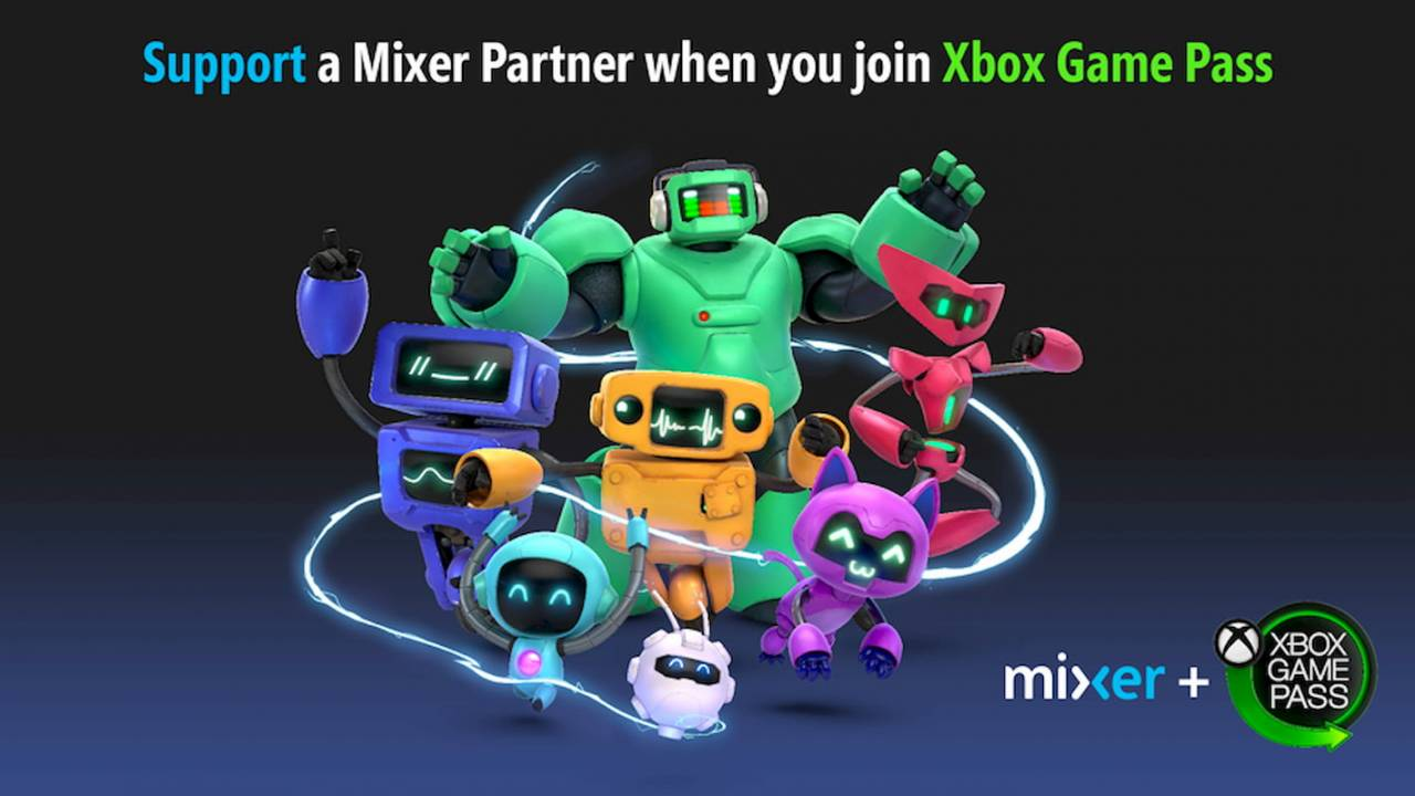 Mixer streamers can now make money from Xbox Game Pass