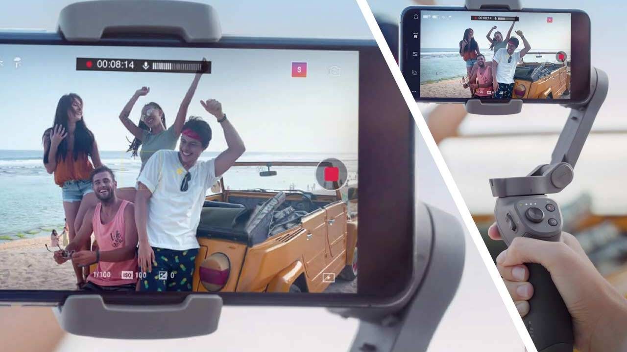 DJI Osmo Mobile 3 gimbal makes iPhone camera magic (Android too)