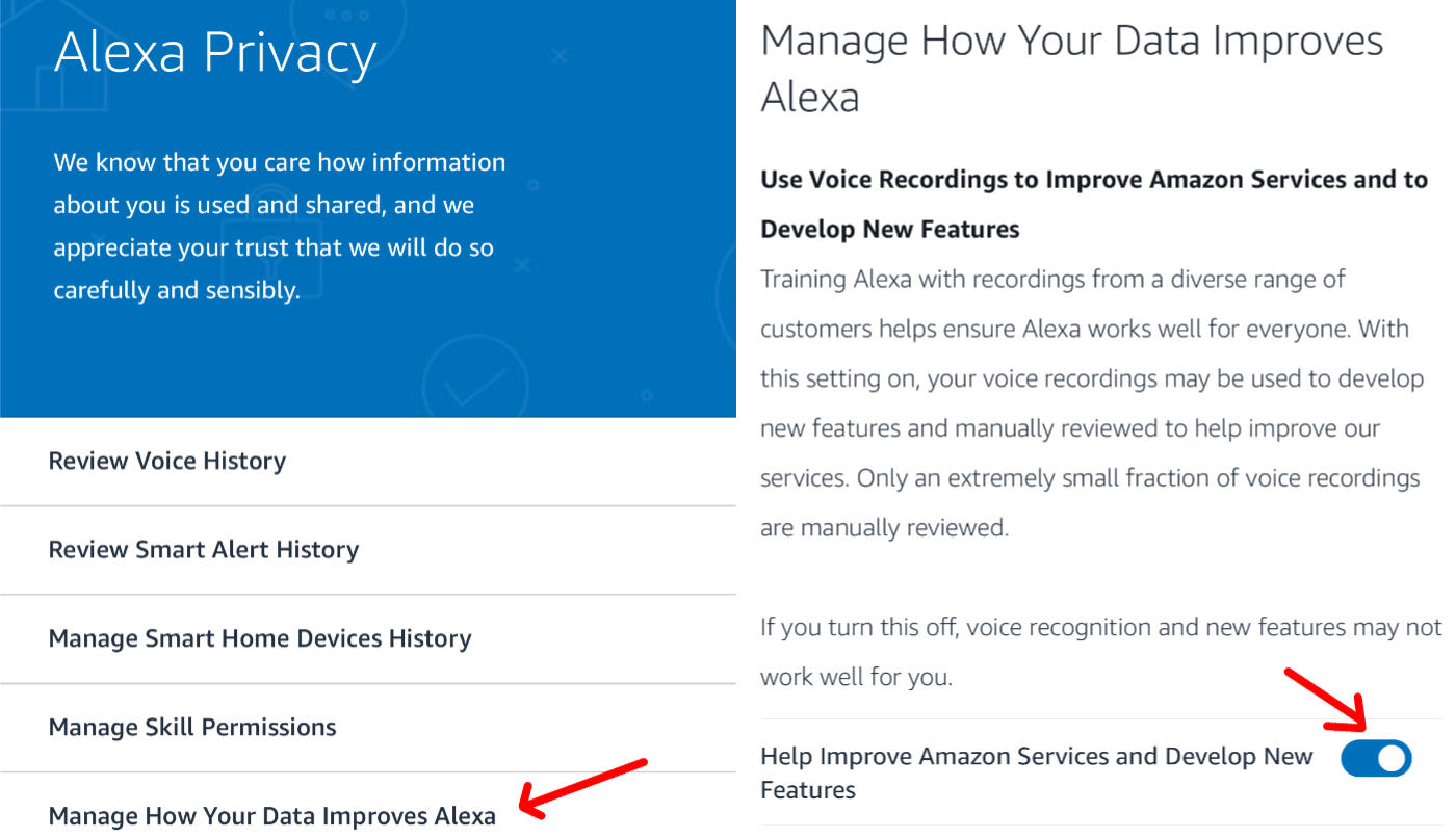 How to stop humans from listening to your Alexa voice