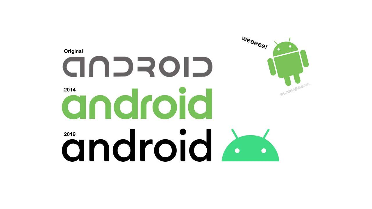 New Android logo and brand update for 2019