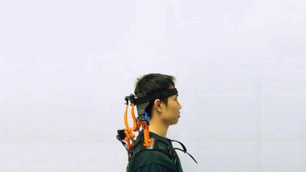 Robotic neck brace helps ALS patients regain range of motion