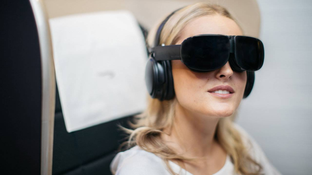 British Airways is testing VR entertainment headsets on flights