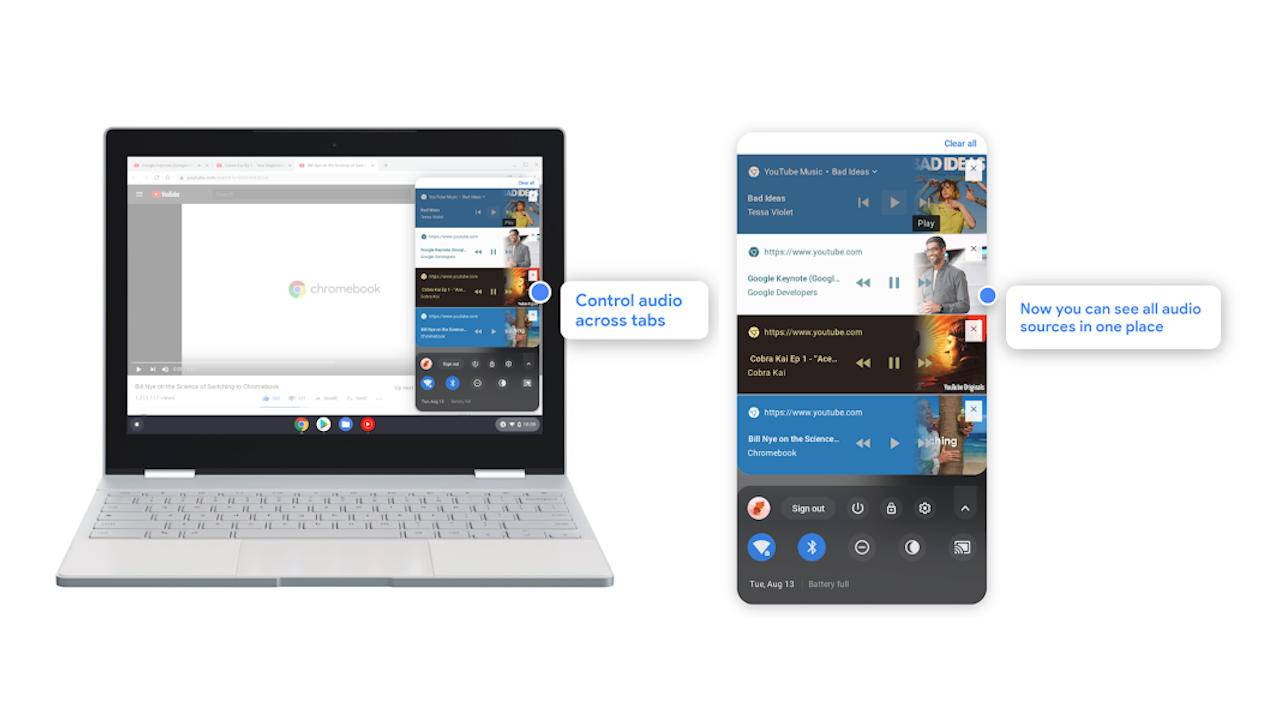 Chrome OS 76 introduces new features for work and even for play