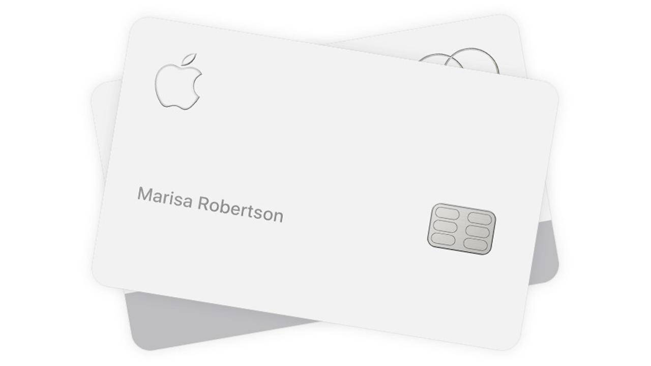 Your Titanium Apple Card might need a screen protector