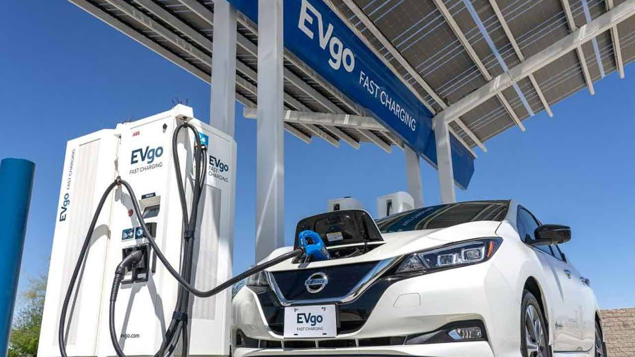 Nissan and EVgo charging network to gain 200 fast chargers