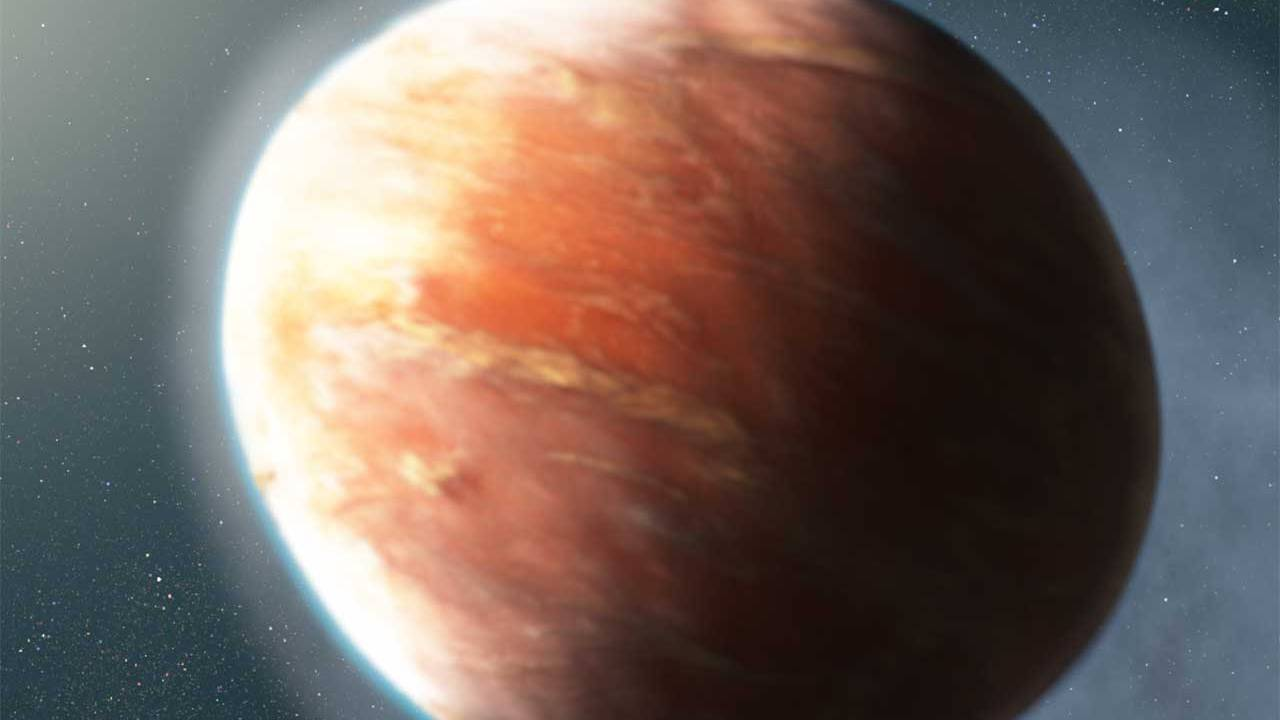 Hubble discovers football-shaped exoplanet