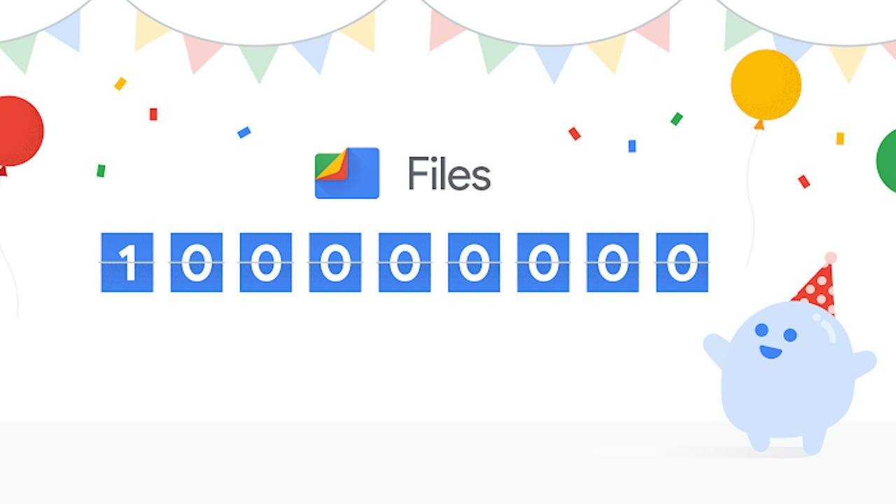 Google Files Android app gets a dark theme to celebrate 100M users