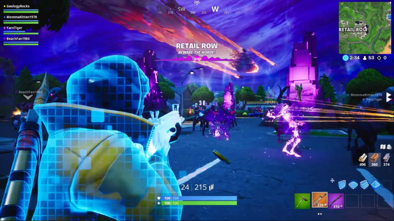 Fortnite v10.10 patch notes: Retail Row, new LTM, and BRUTE tweaks