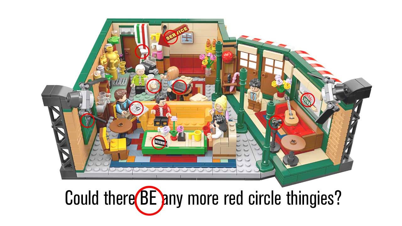 The one with the Friends LEGO set for the most obsessive fans