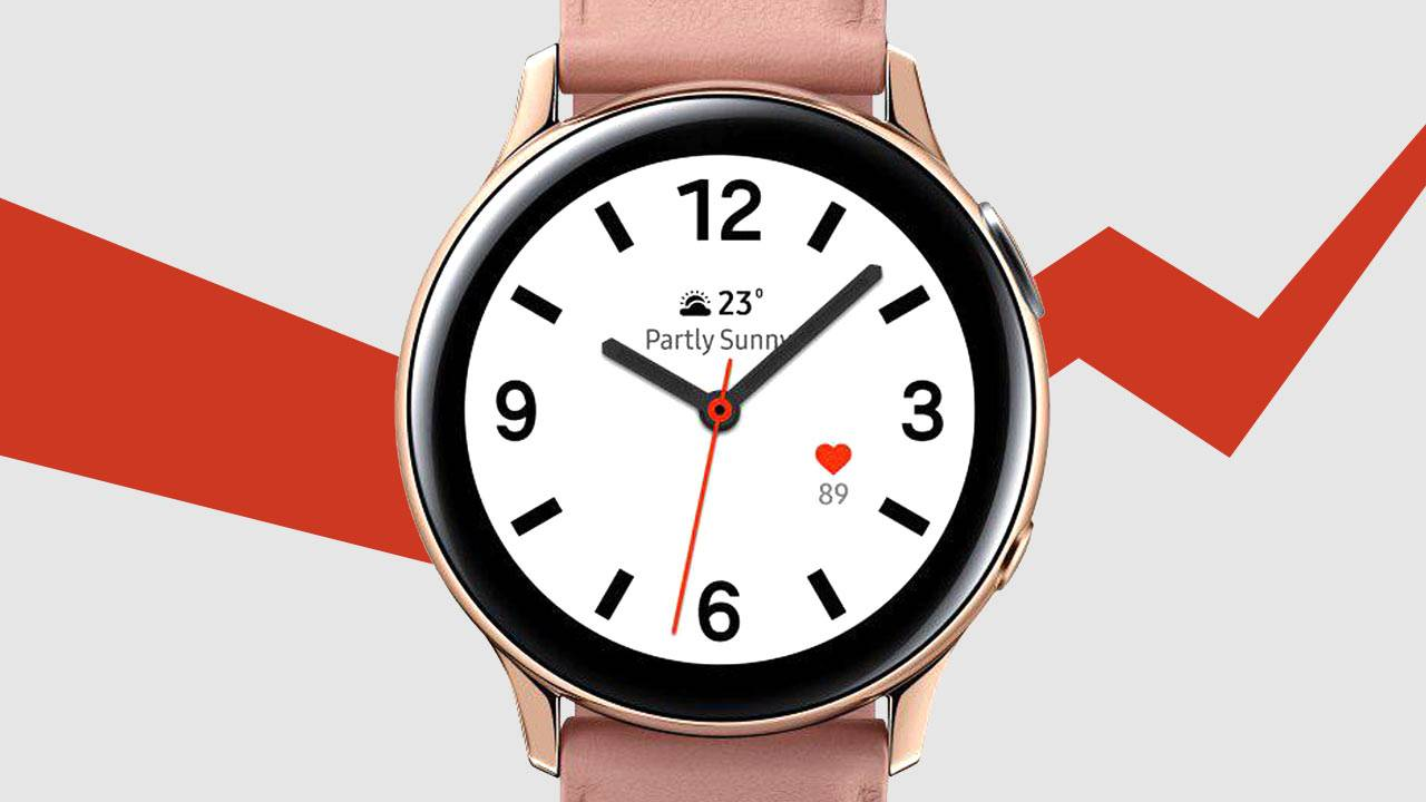 Samsung Galaxy Watch Active2 official with magical digital bezel