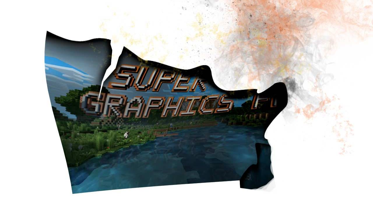Minecraft Super Duper Graphics Pack fans just got 4K burned