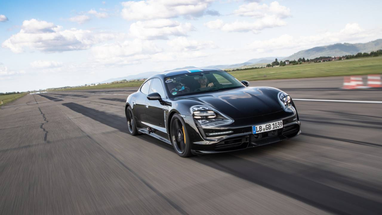 The Porsche Taycan just declared a new EV war where speed isn't enough