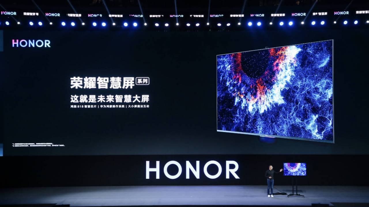 Honor Vision smart TV revealed: HarmonyOS and AI pop-up camera
