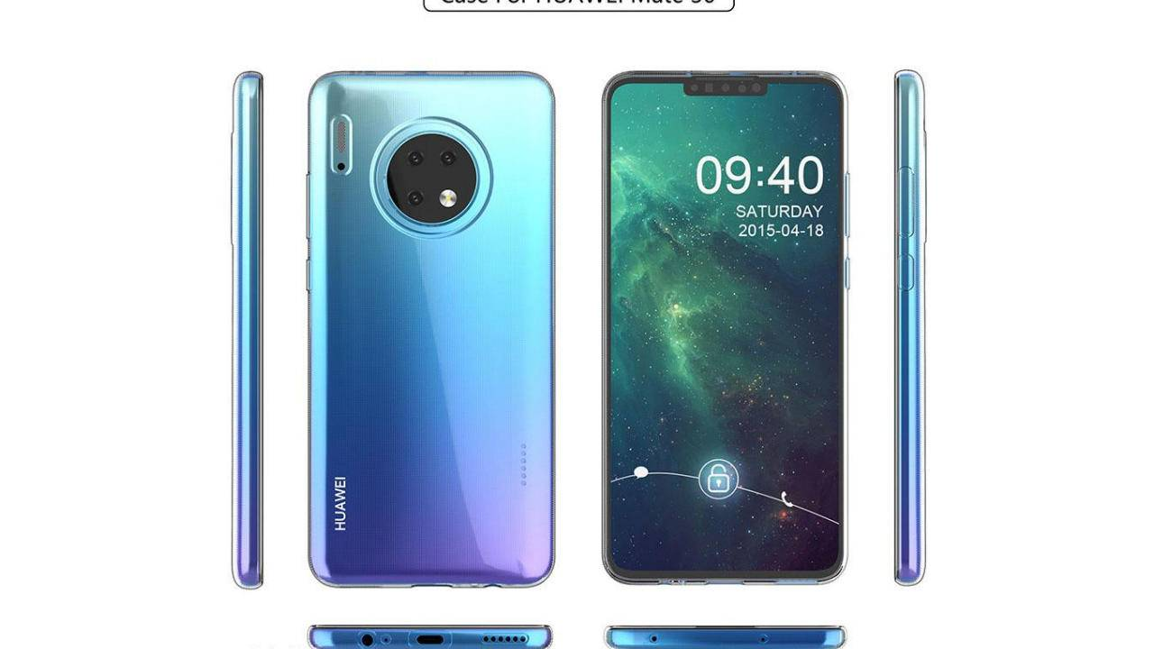 Huawei Mate 30 and Mate 30 Pro cases reveal an odd design change