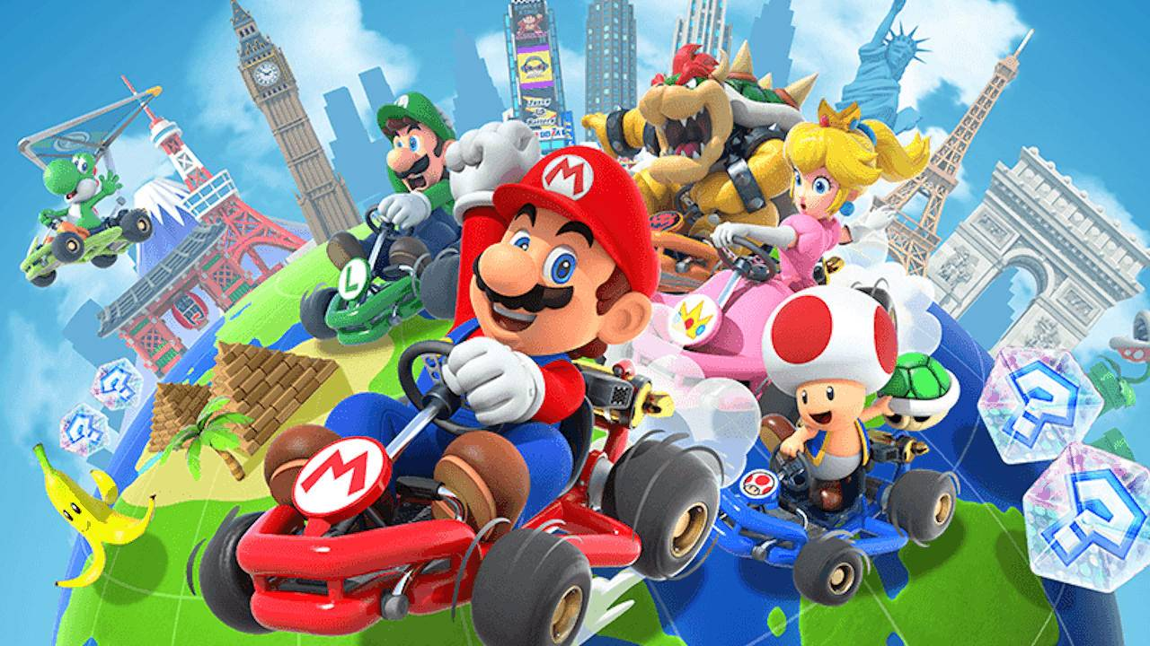 Mario Kart Tour will finally be rolling out next month