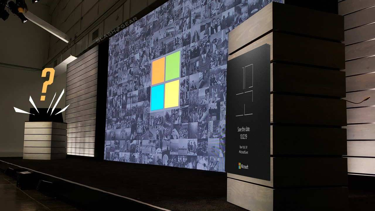 Microsoft Surface event set for October 2 with dual-display potential