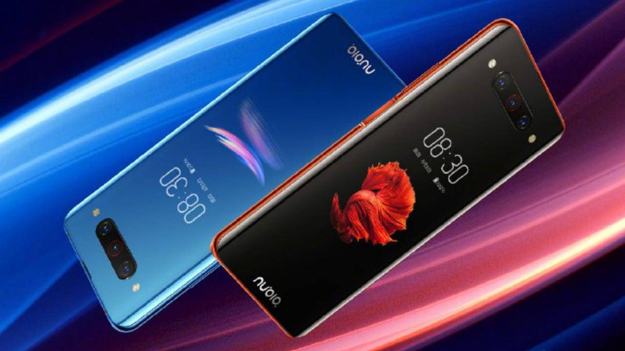 nubia Z20 insists that dual screen phones are still a thing