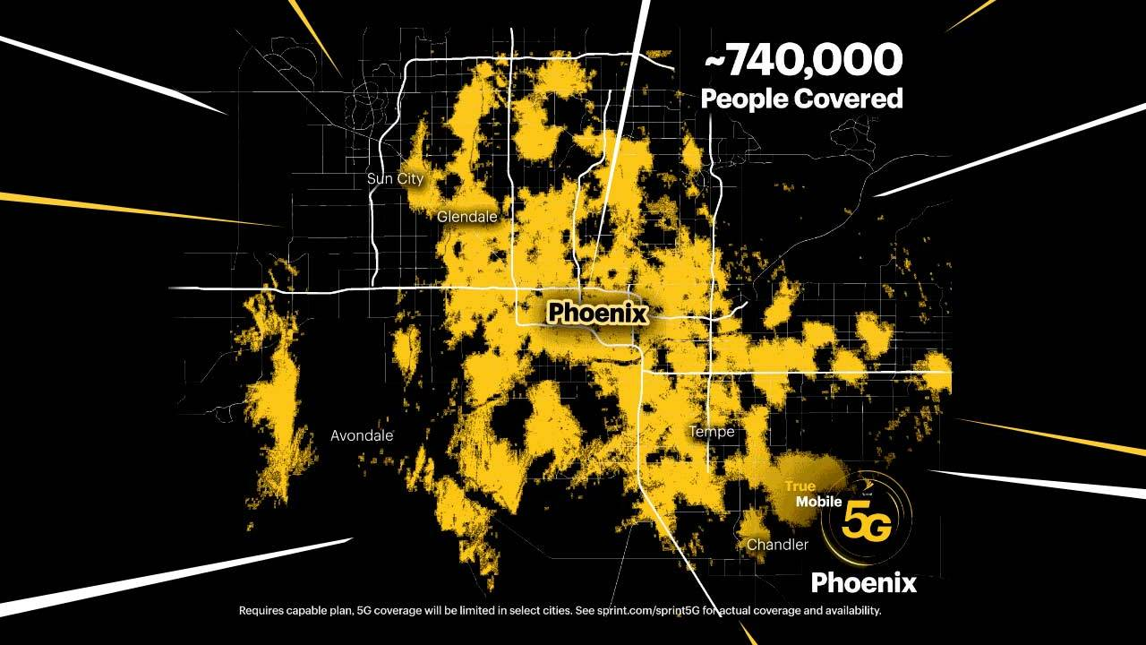 Sprint activates 5G in Phoenix with Hatch gaming