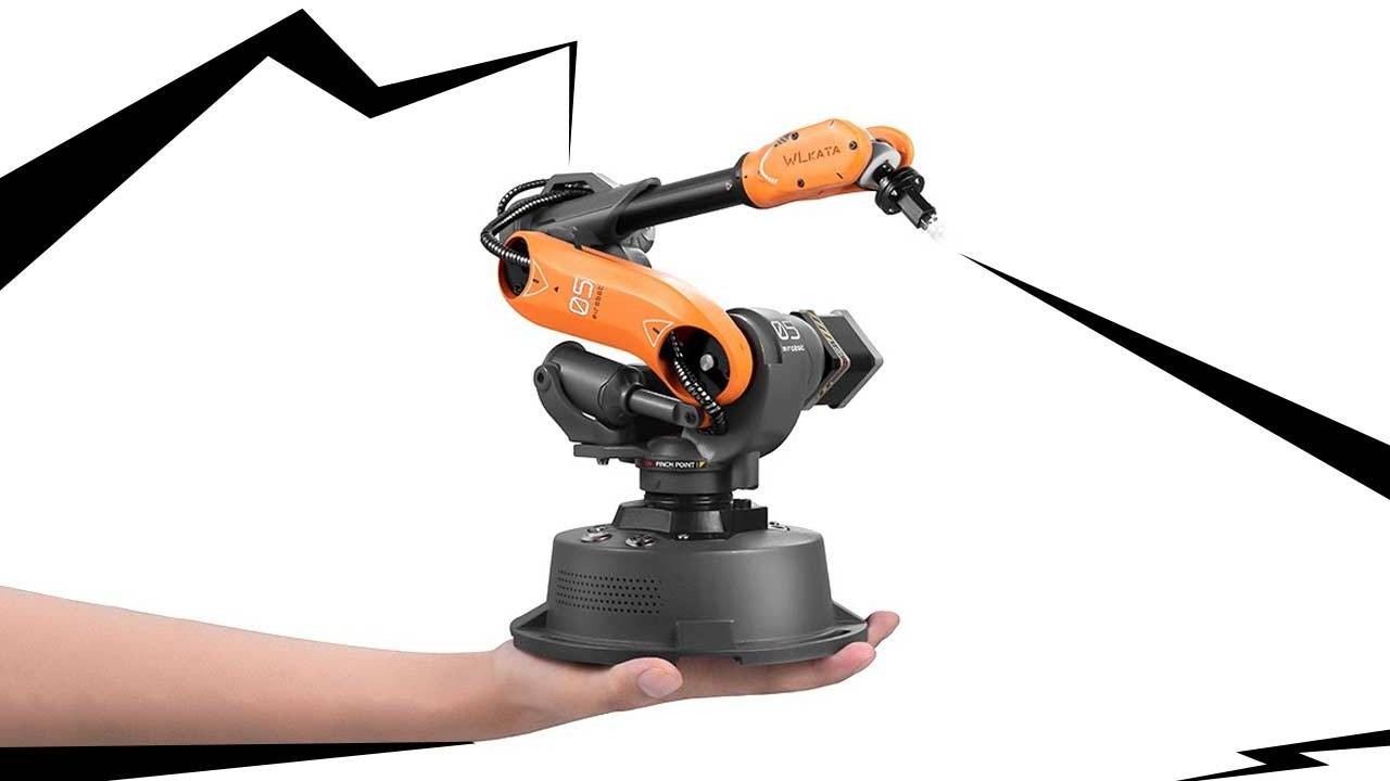 Is this the cutest robot arm in the world?