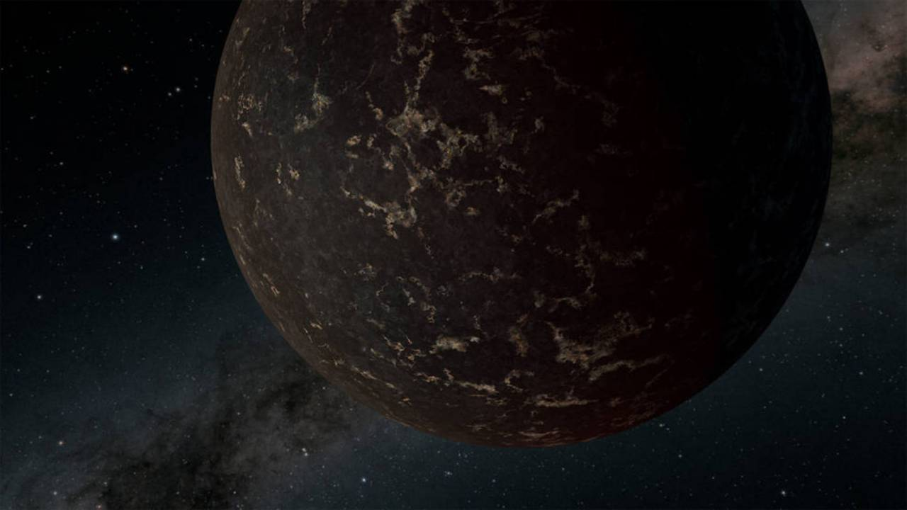 NASA details big LHS 3844b exoplanet covered in dark lava rock