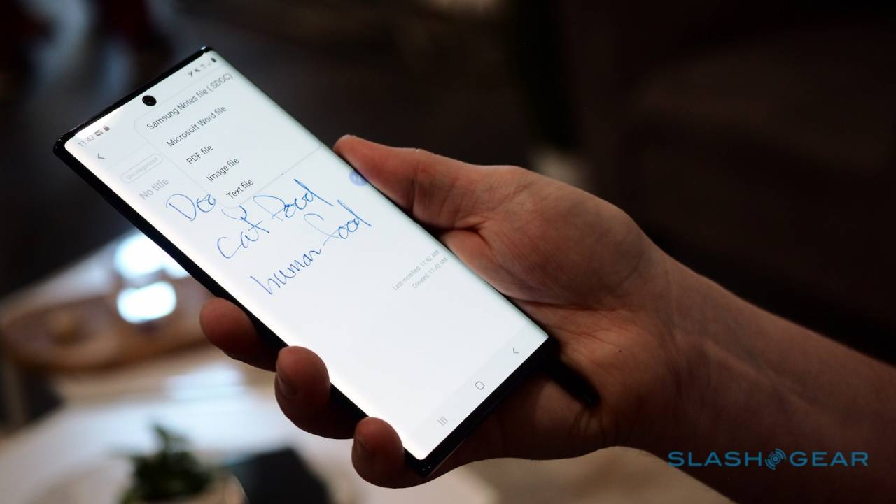 Samsung Galaxy Note 10 hands-on: End of the line? - SlashGear