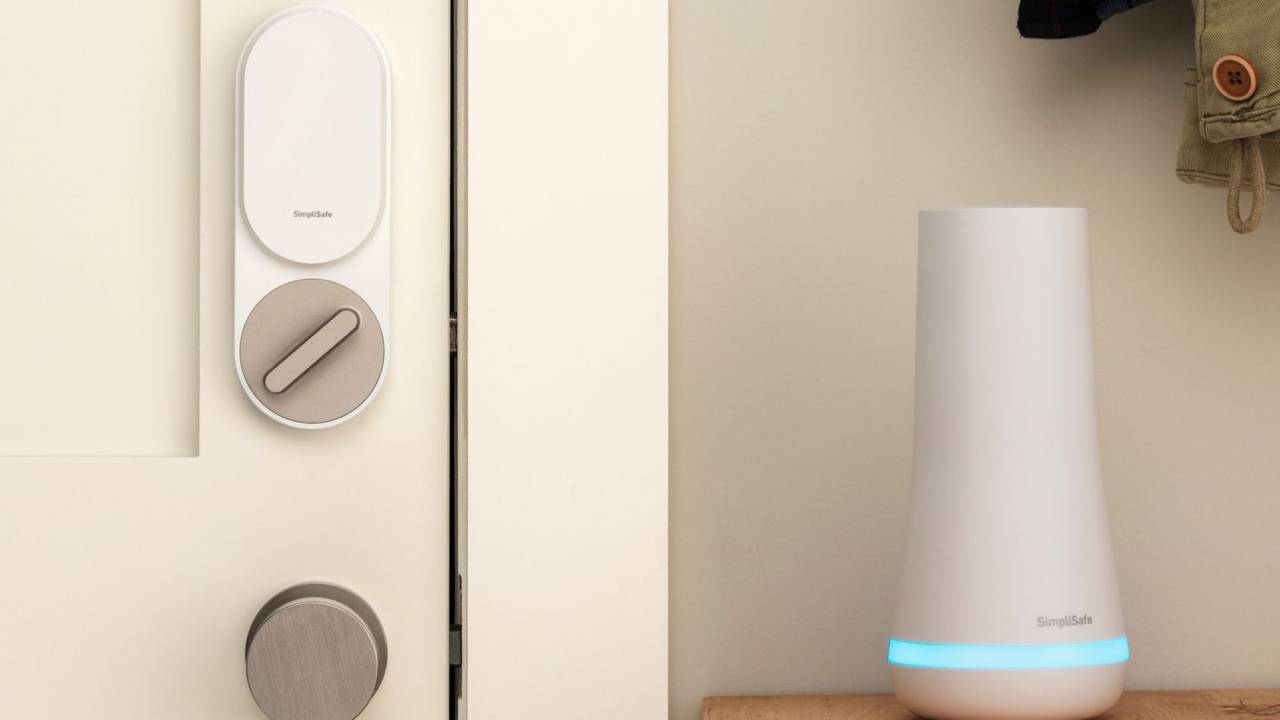 SimpliSafe Smart Lock is a super-skinny $99 door upgrade