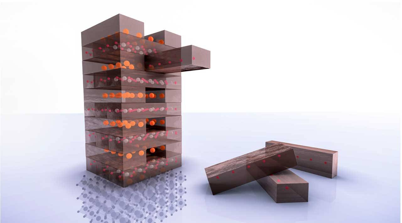 "Scientists create superconductor using ""Jenga chemistry"""