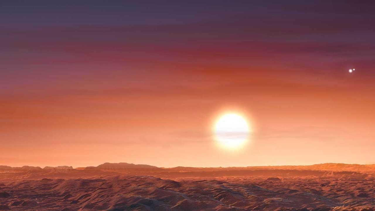 New rocky exoplanet with three red suns discovered