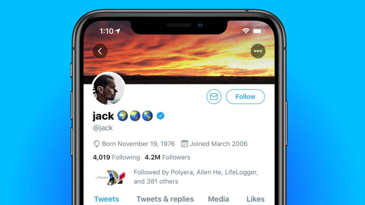 Twitter CEO's @Jack account hacked [Update]