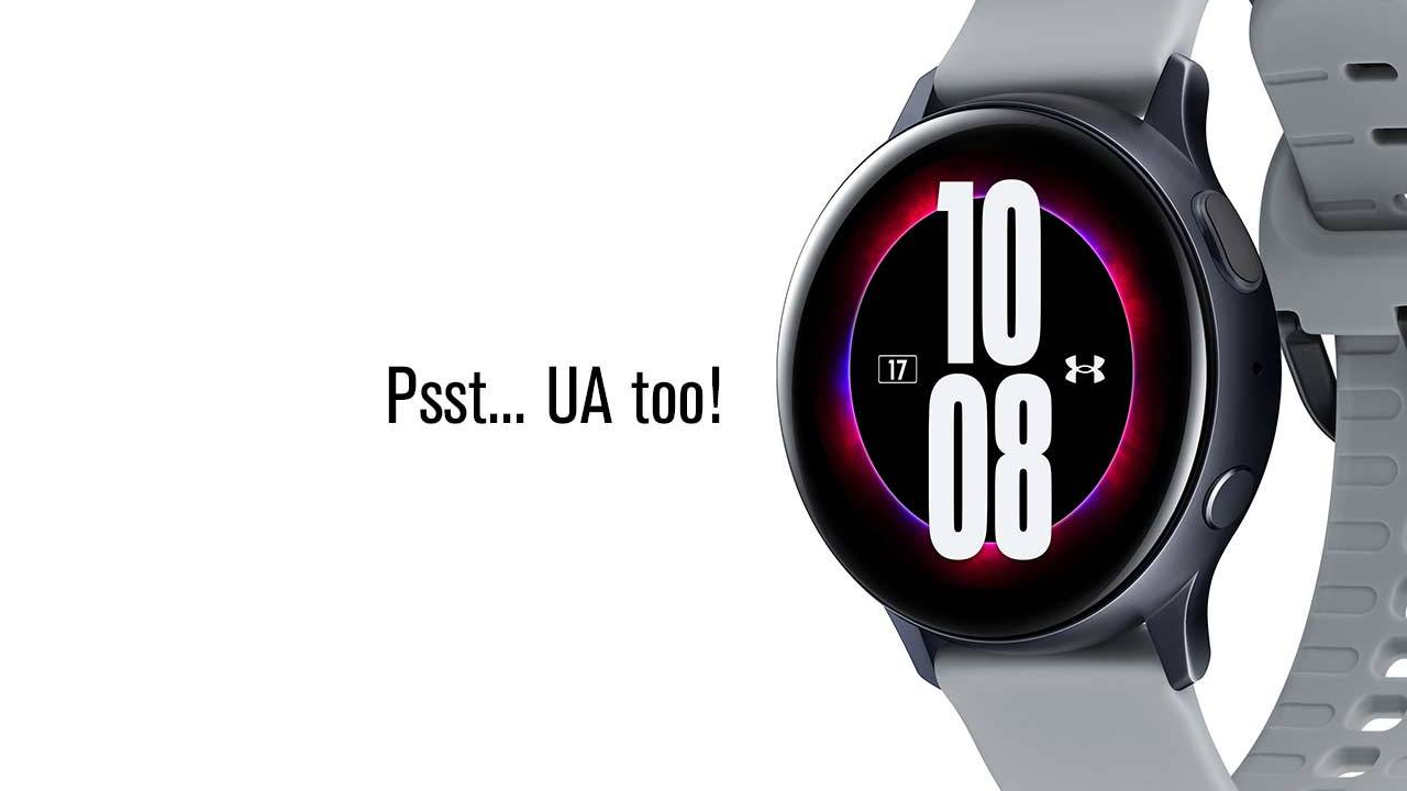 Galaxy Watch Active2 Under Armour Edition official details