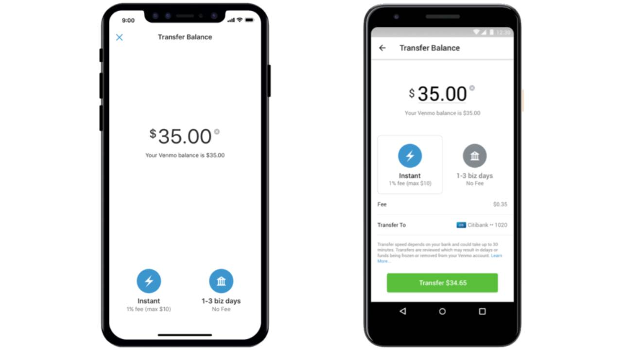 Venmo finally offers instant money transfers to bank accounts