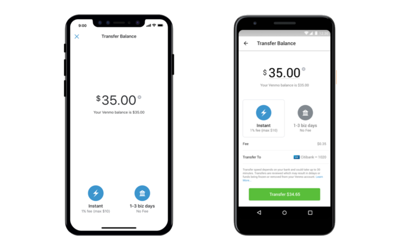 Venmo finally offers instant money transfers to bank