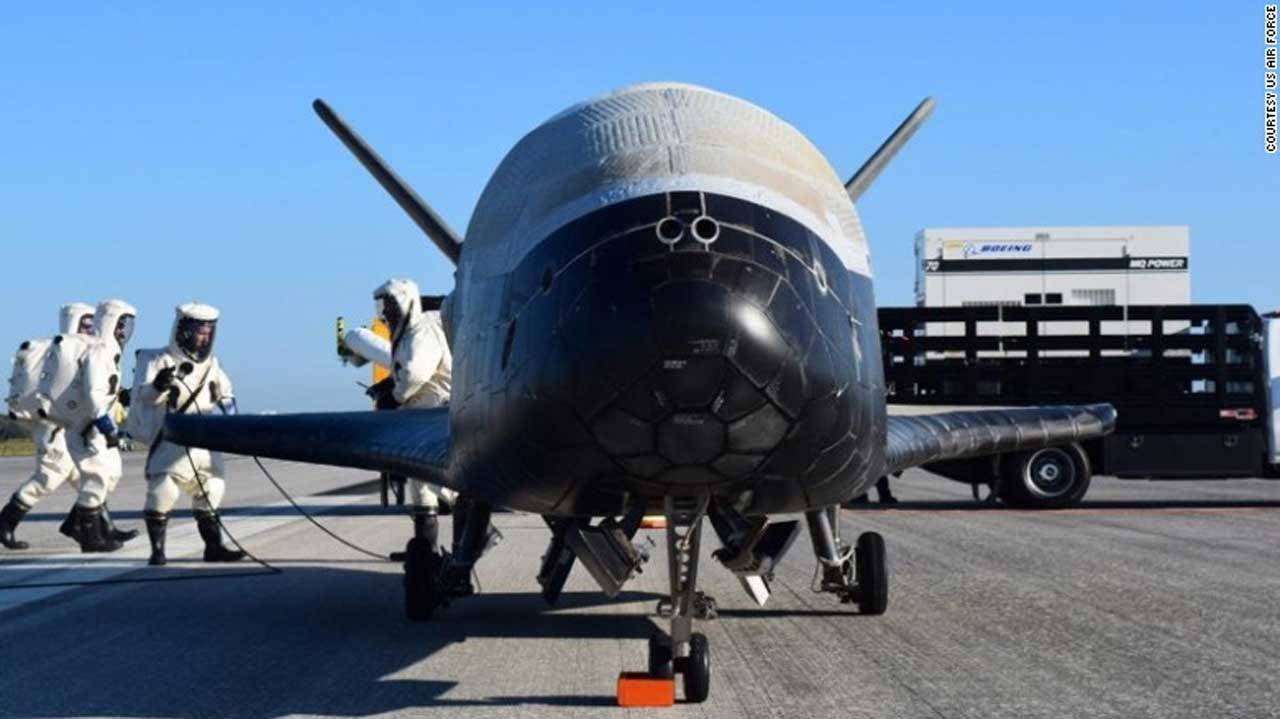 Air Force X-37B has been in orbit for more than 718 days