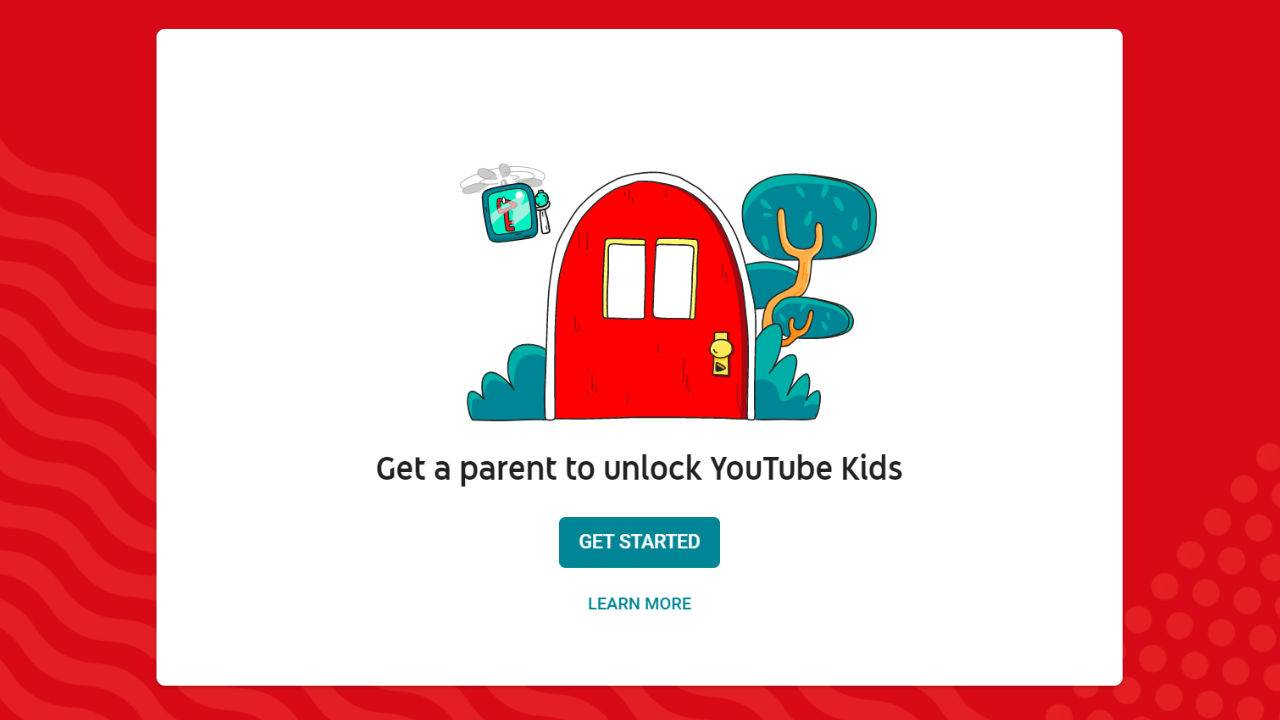 YouTube Kids' parental control lock is a simple math question