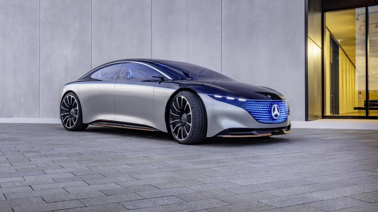 Mercedes-Benz VISION EQS Gallery