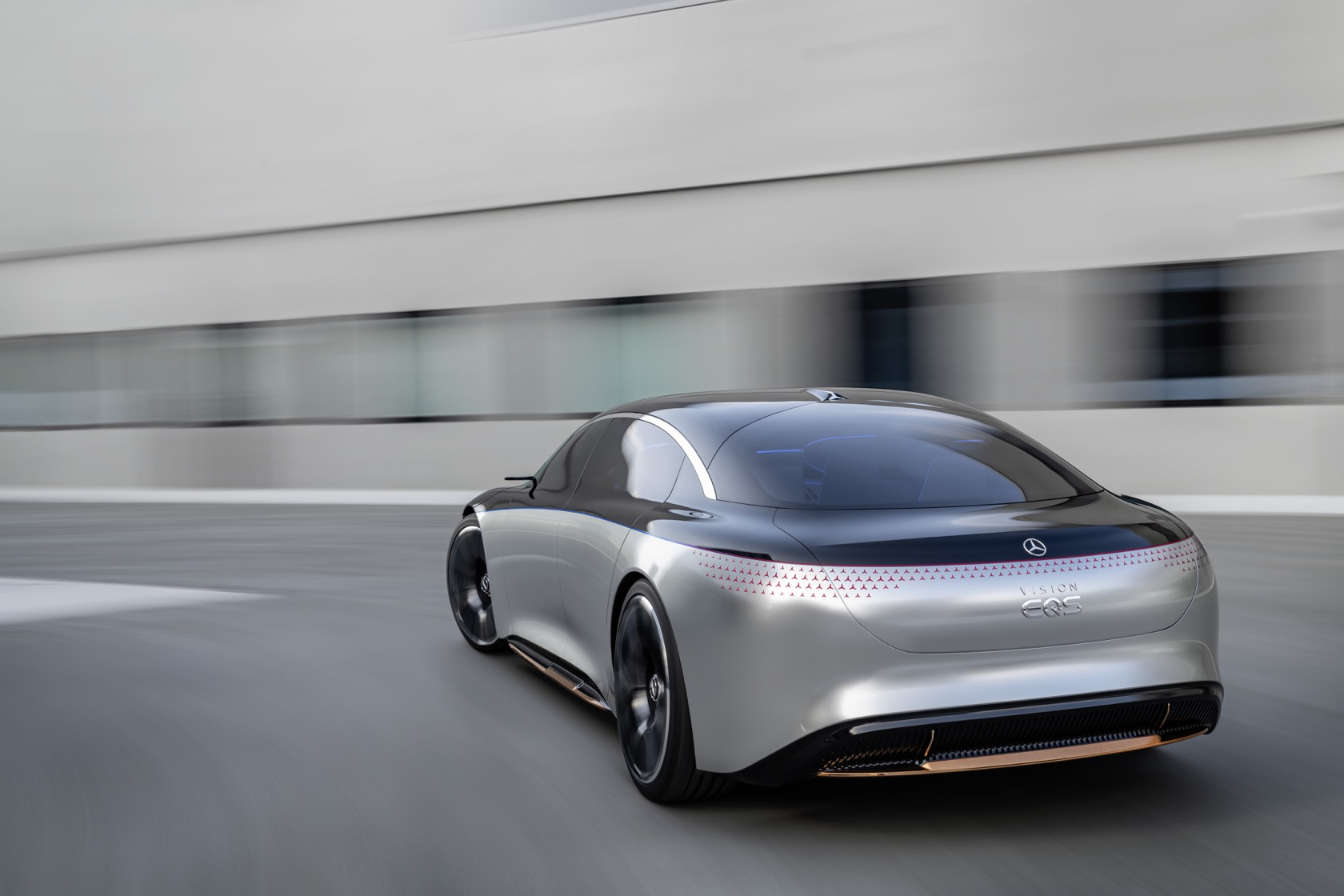 Mercedes-Benz VISION EQS is an unexpectedly practical