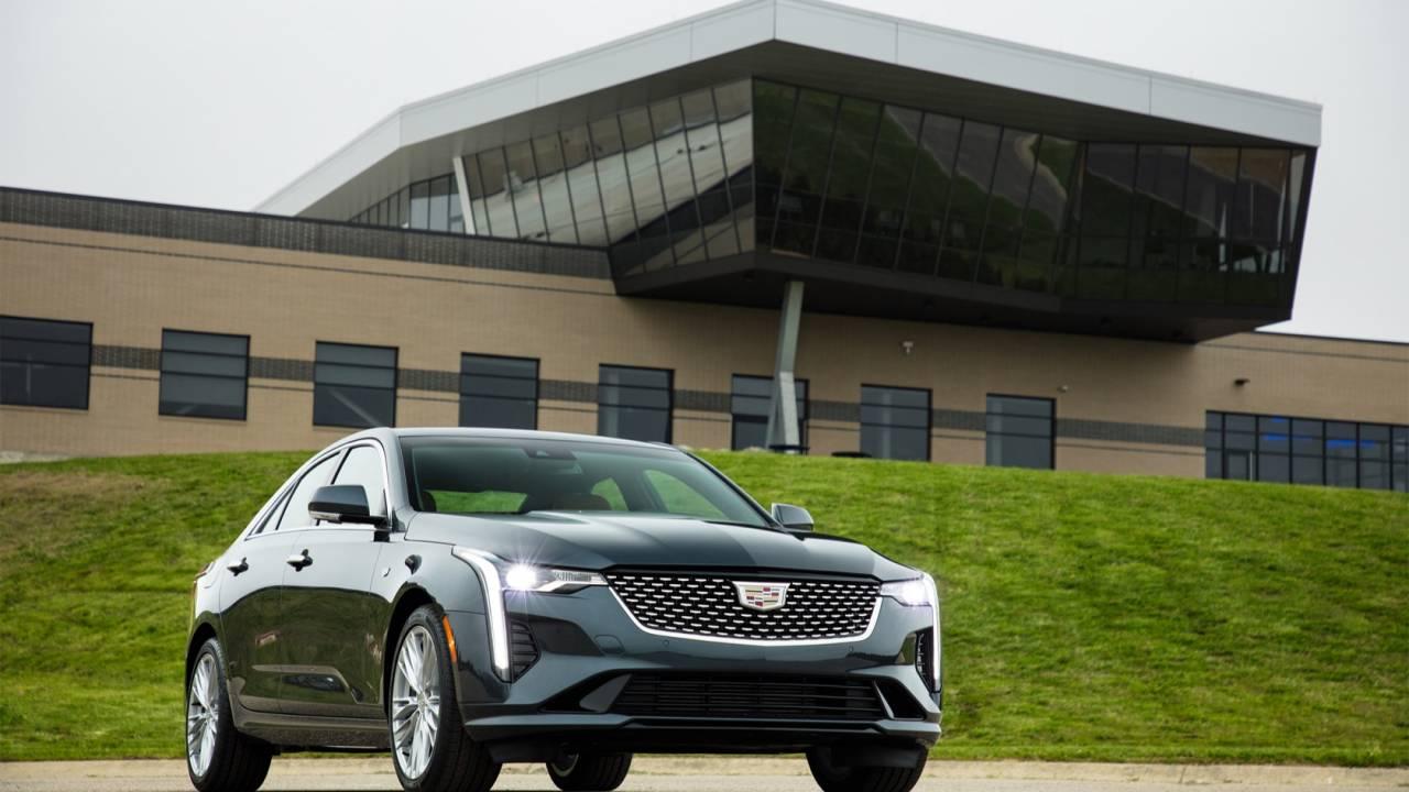 2020 Cadillac CT4 sports sedan takes aim at Acura and Lexus
